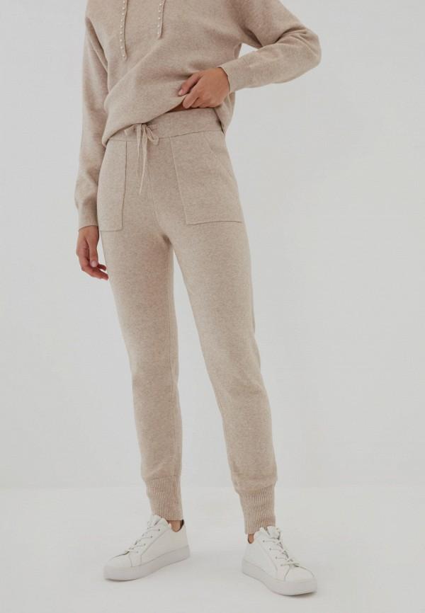 женские брюки джоггеры zarina, бежевые