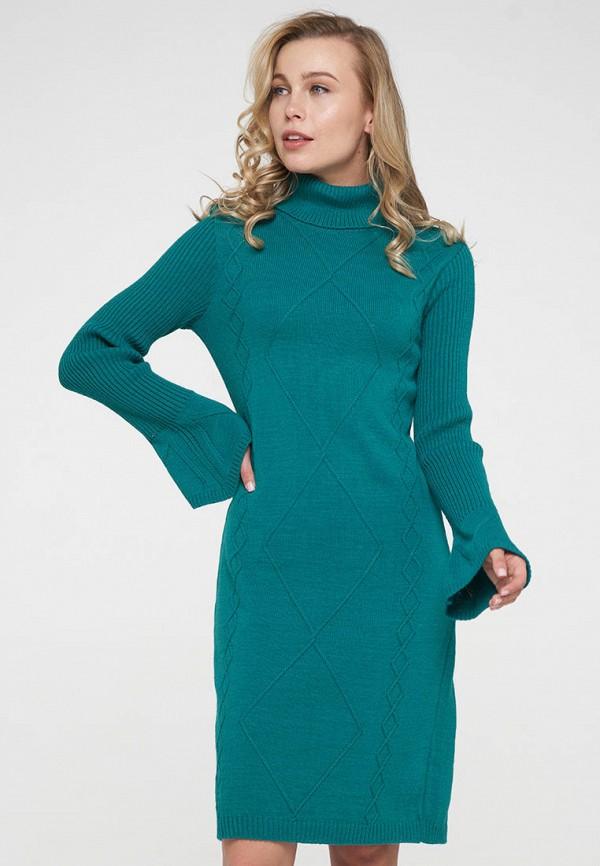 женское платье-свитеры vay, зеленое