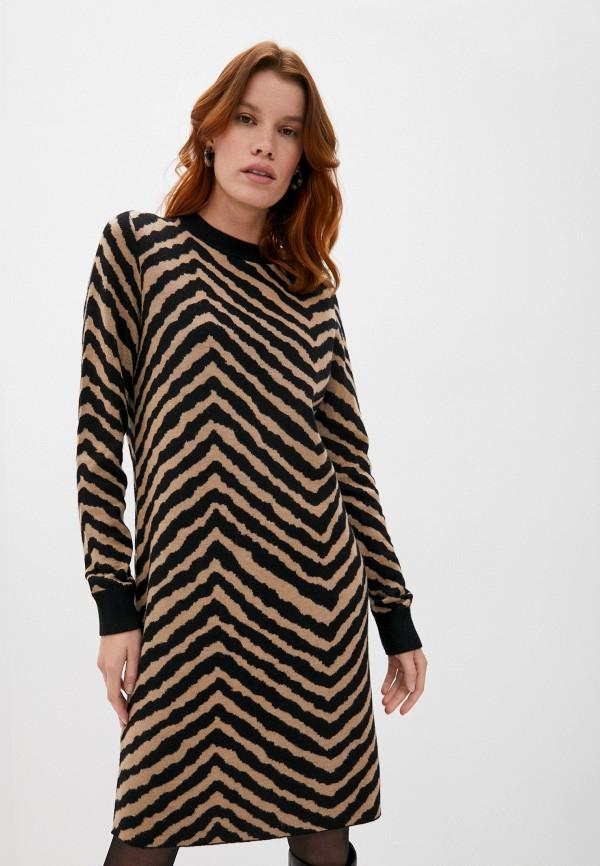женское платье-свитеры boss, бежевое