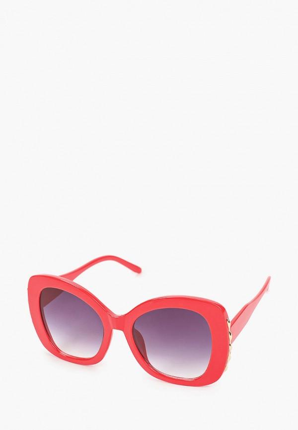 женские солнцезащитные очки красная жара, красные