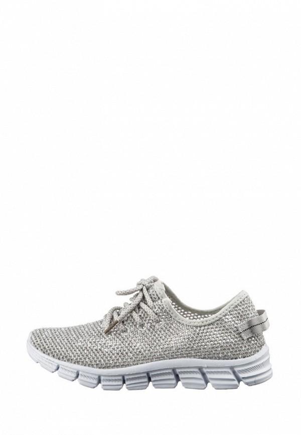 женские кроссовки inblu, серебряные