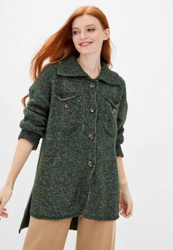 женский кардиган sewel, зеленый