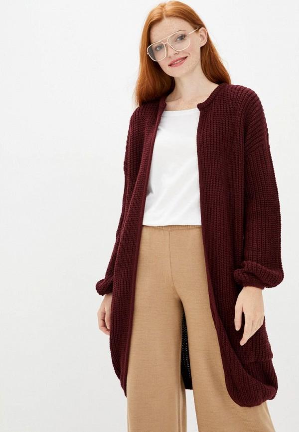 женский кардиган sewel, бордовый