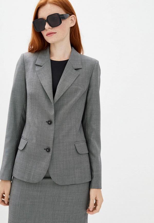 женский пиджак katerina timakina, серый