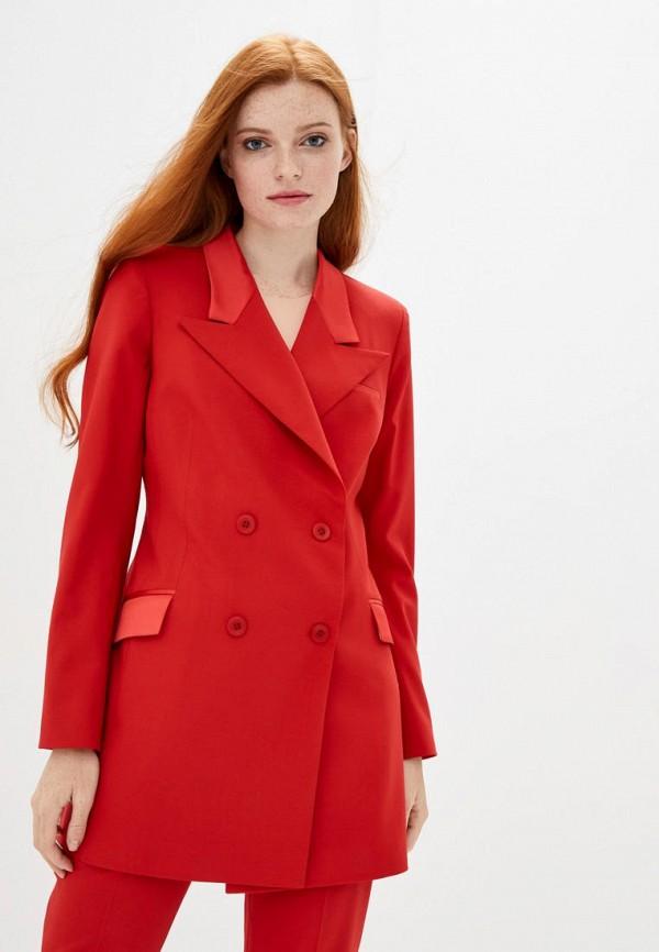 женский пиджак katerina timakina, красный
