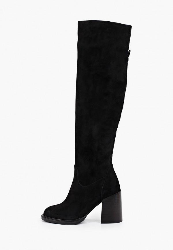 женские ботфорты mascotte, черные