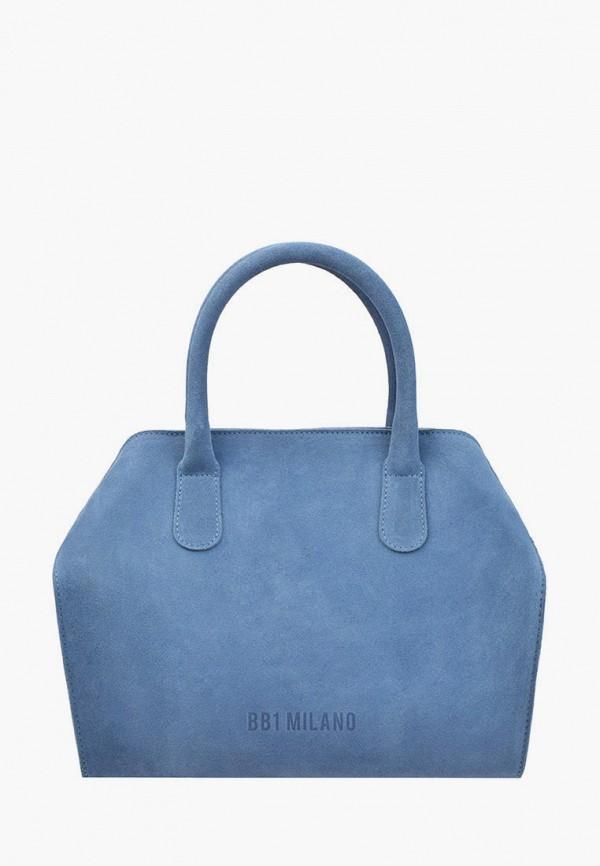 женская сумка с ручками bb1, голубая