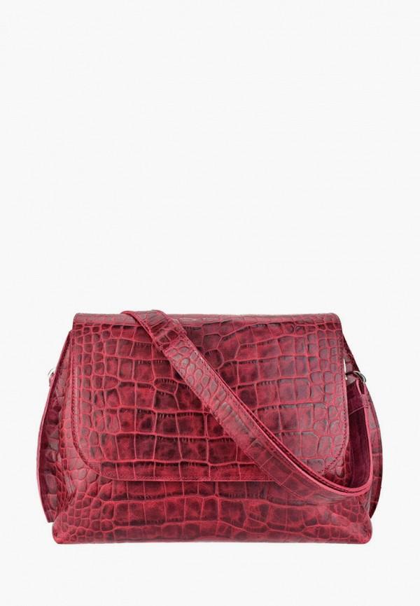 женская сумка через плечо bb1, красная
