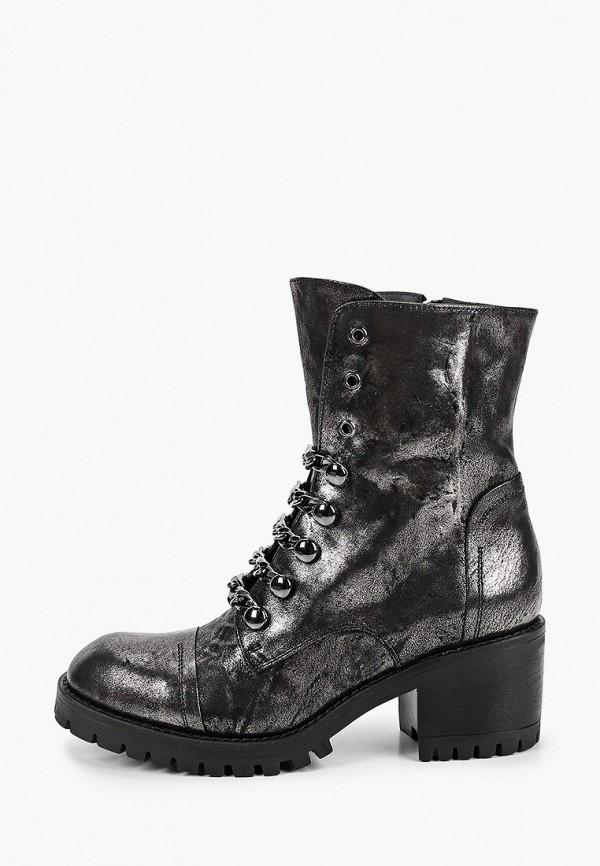 женские высокие ботинки pazolini, серые