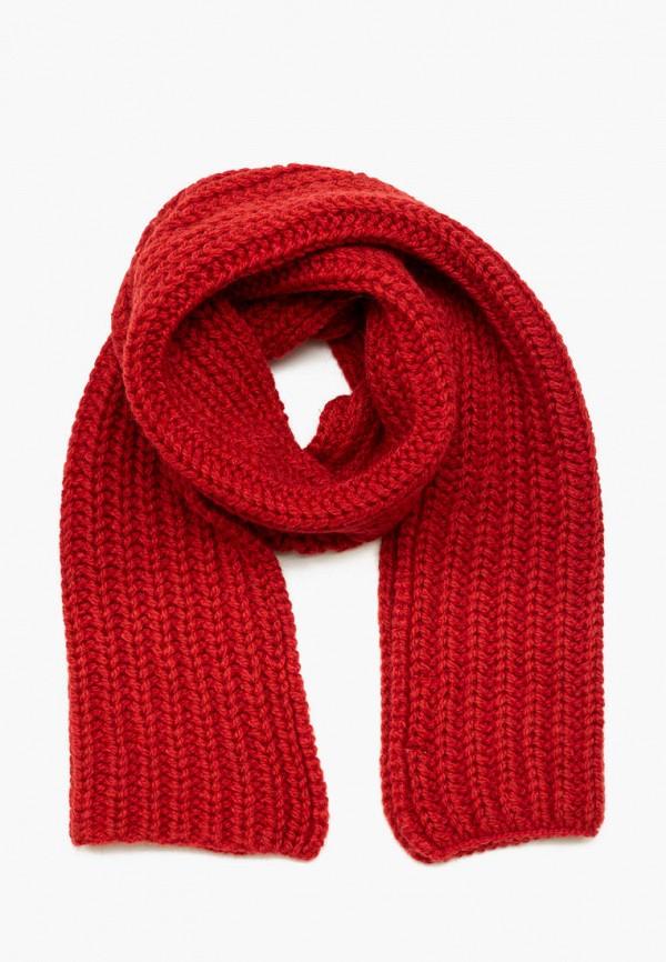 женский шарф zhakko, красный
