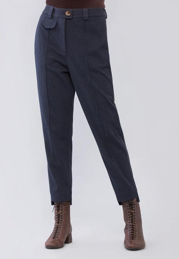женские прямые брюки maxa, синие