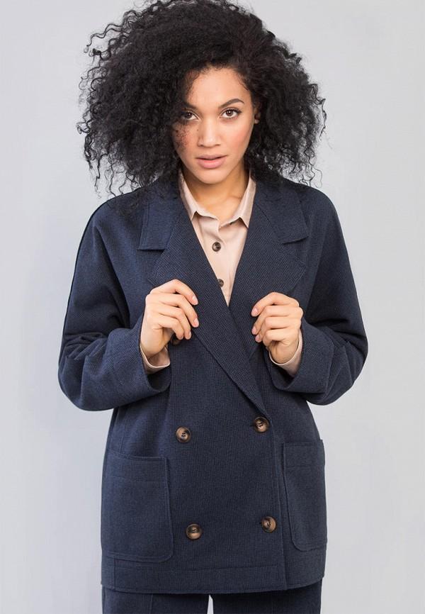 женский пиджак maxa, синий