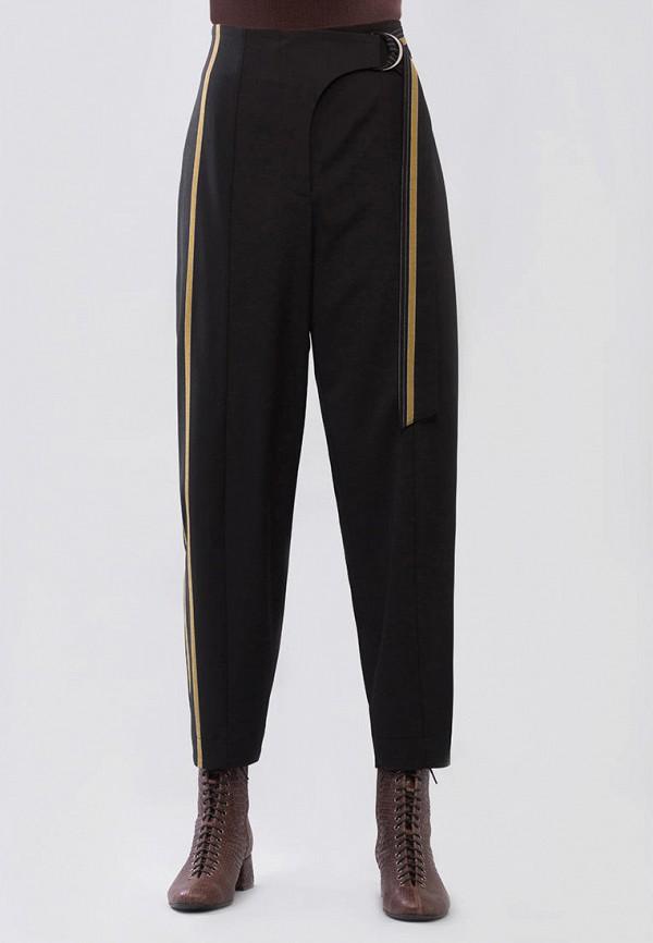 женские прямые брюки maxa, черные