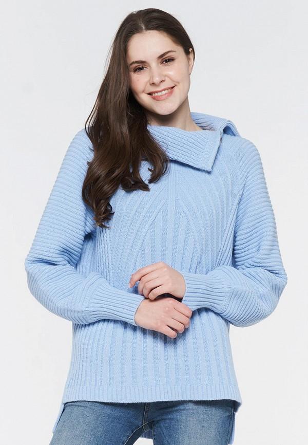 женский свитер vay, голубой