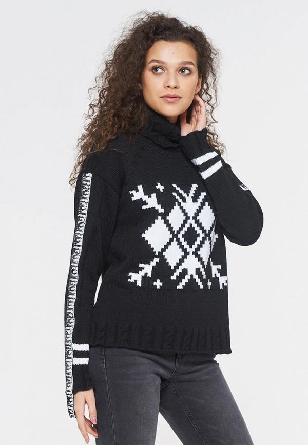 женский свитер vay, черный