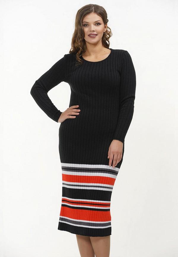 женское платье-свитеры vay, черное
