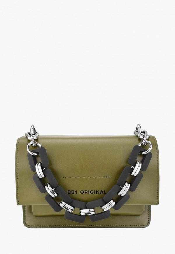 женская сумка через плечо bb1, хаки