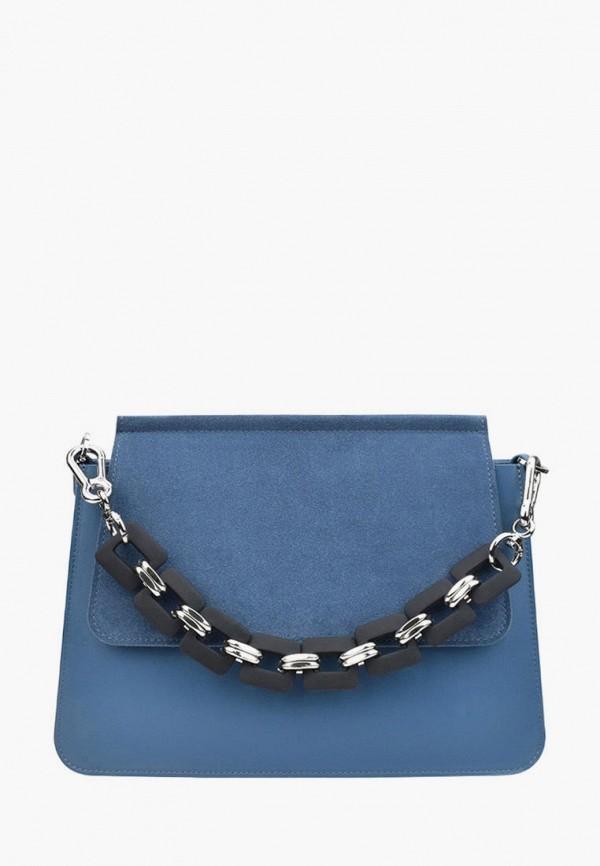 женская сумка через плечо bb1, синяя