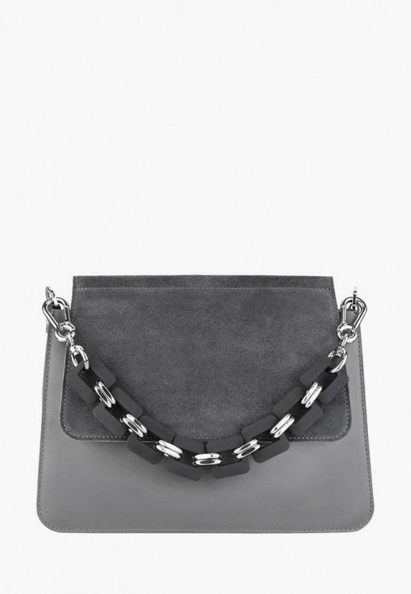 женская сумка через плечо bb1, серая