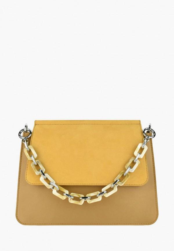 женская сумка через плечо bb1, желтая
