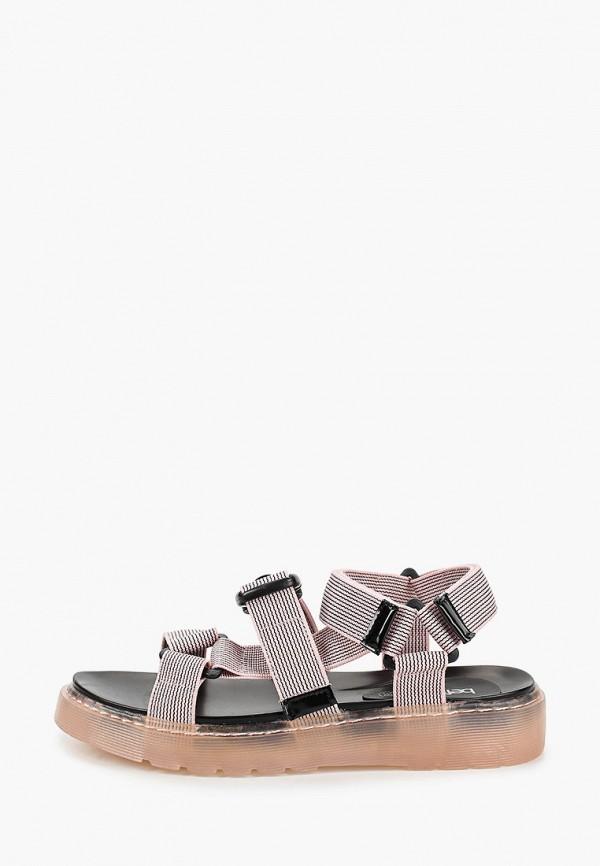 женские сандалии befree, розовые