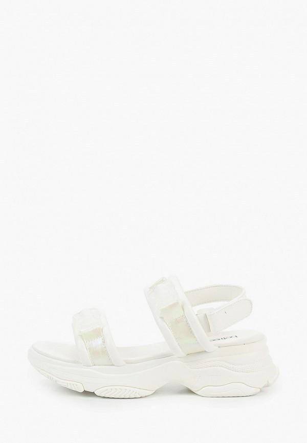 женские сандалии befree, белые