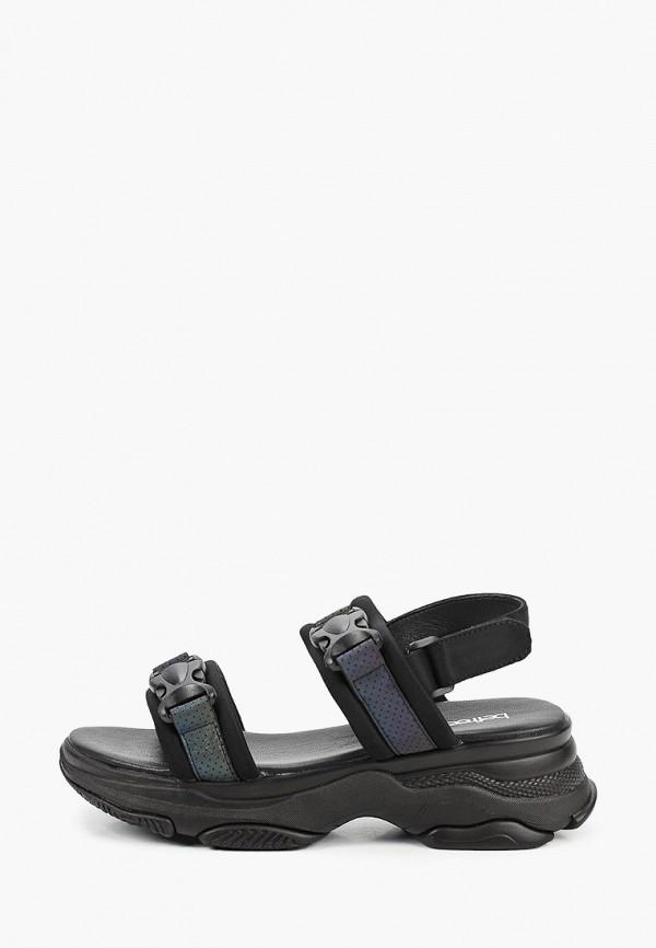 женские сандалии befree, черные