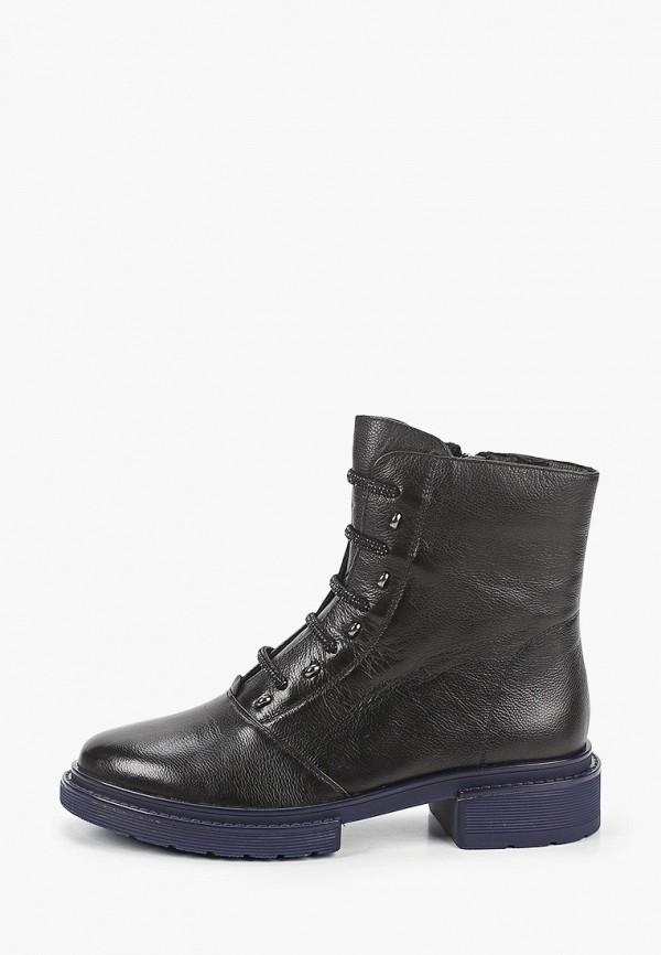 женские высокие ботинки valley, черные