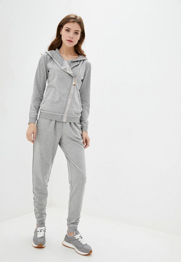 женский спортивный костюм ora, серый