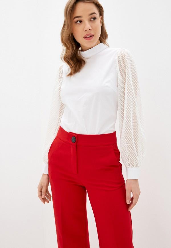 женская блузка с длинным рукавом bezko, белая