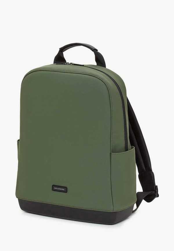 женский рюкзак moleskine, зеленый