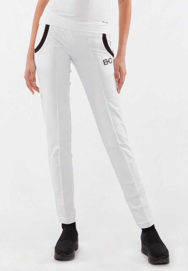 женские брюки bodro design, белые
