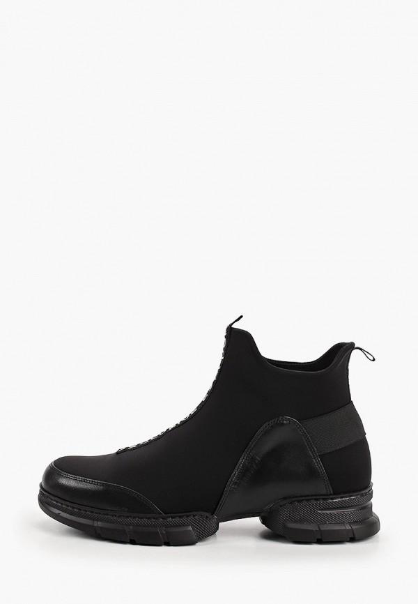 женские ботинки-челси ascalini, черные