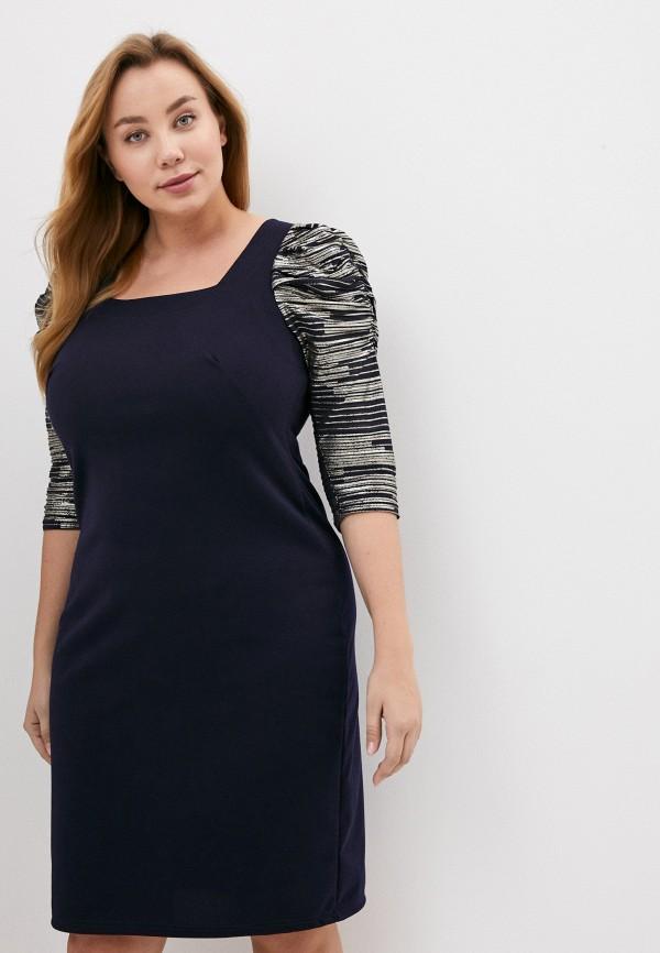 женское вечерние платье olsi, синее