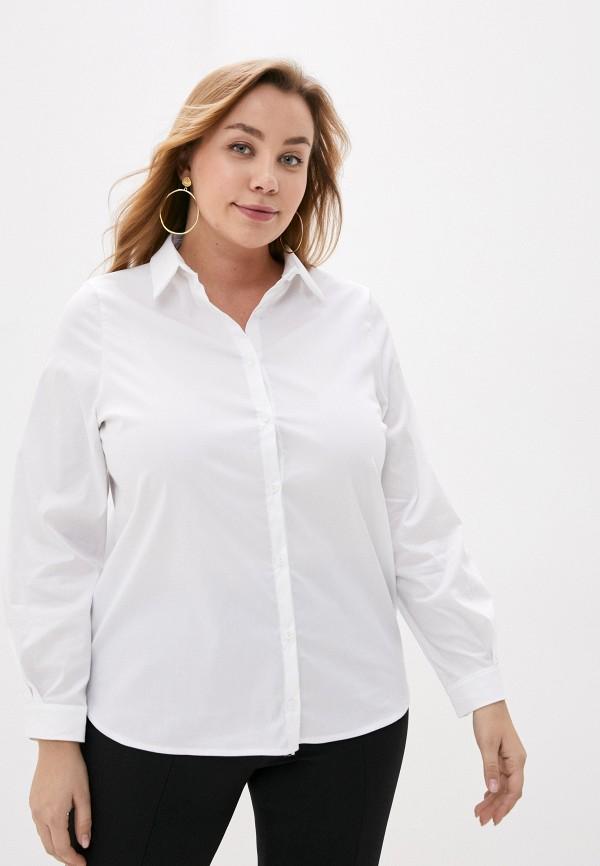 женская рубашка с длинным рукавом olsi, белая