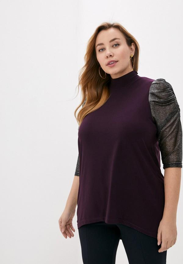 женская блузка olsi, фиолетовая