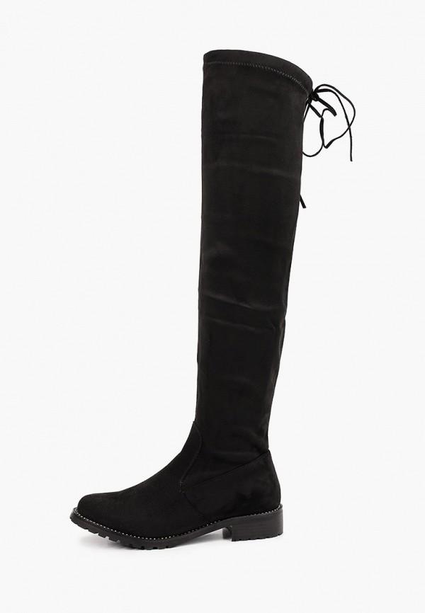 женские ботфорты араз, черные