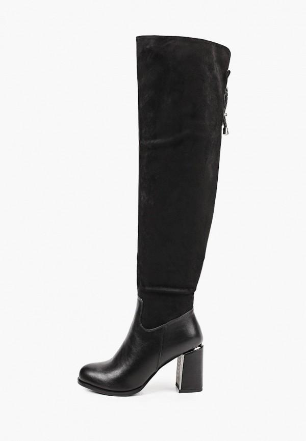 женские ботфорты kellis, черные