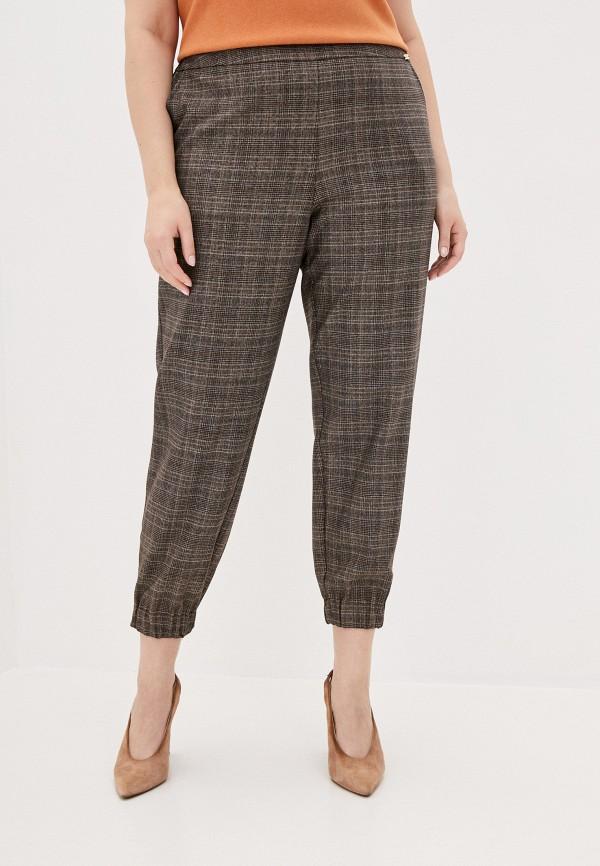 женские зауженные брюки helmidge, коричневые