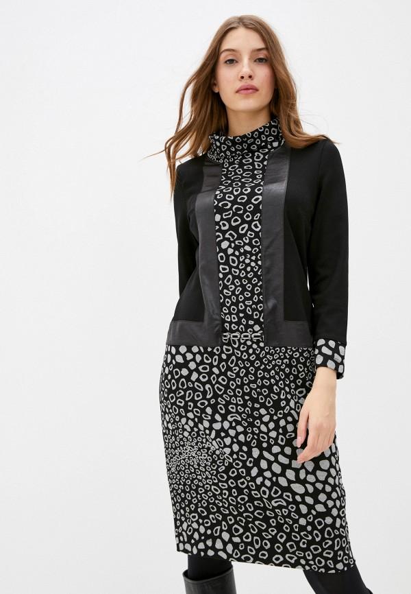 женское повседневные платье helmidge, черное