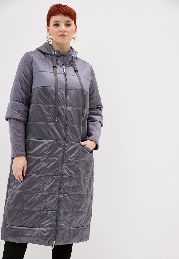 женская утепленные куртка helmidge, серая
