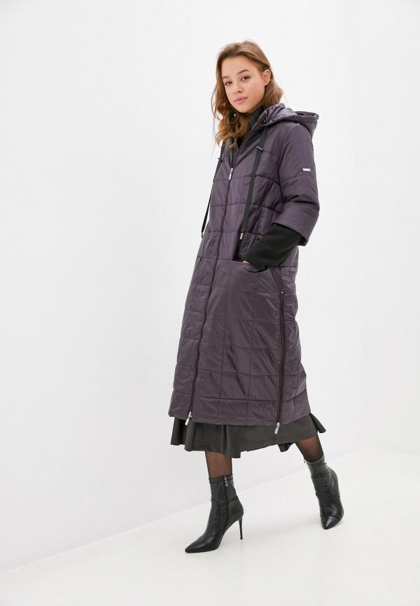 женская утепленные куртка helmidge, фиолетовая