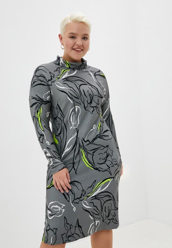 женское повседневные платье helmidge, серое