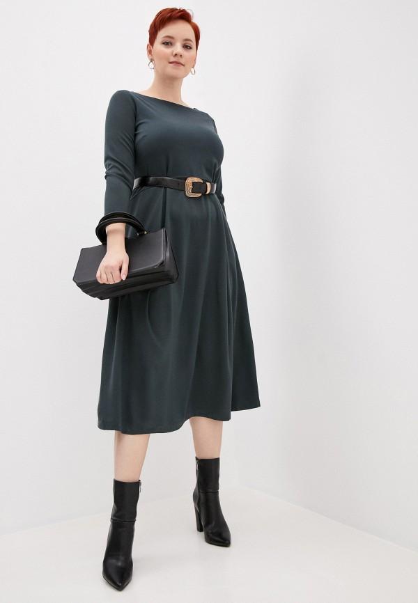 женское повседневные платье helmidge, зеленое
