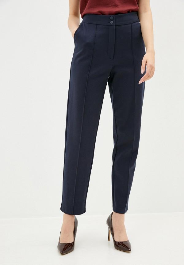 женские зауженные брюки helmidge, синие