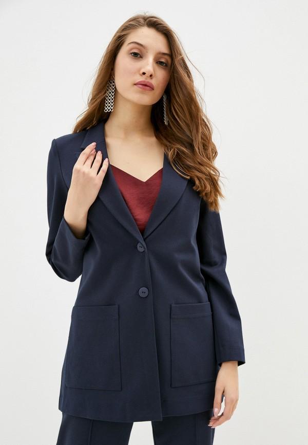 женский пиджак helmidge, синий