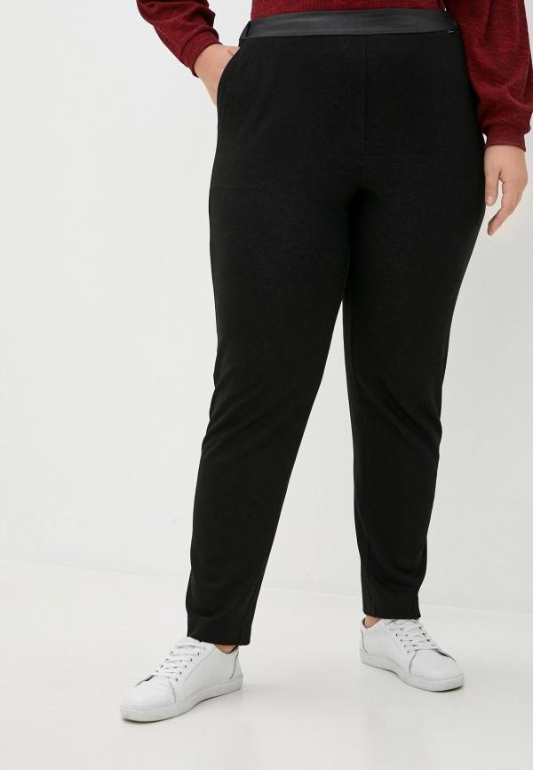женские зауженные брюки helmidge, черные