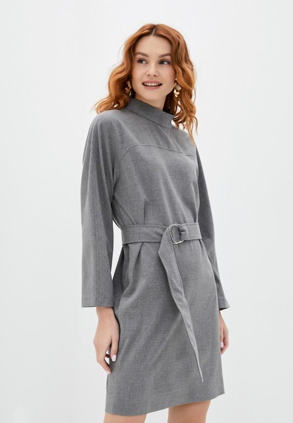 женское повседневные платье vittoria vicci, серое