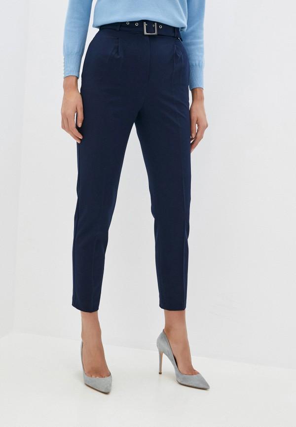 женские повседневные брюки vittoria vicci, синие