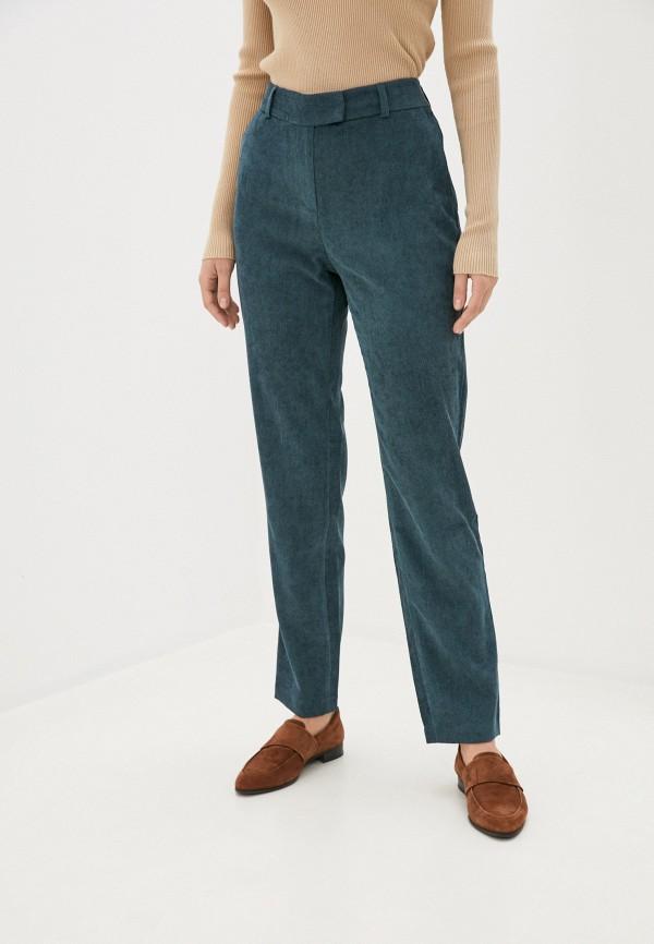 женские повседневные брюки vittoria vicci, бирюзовые